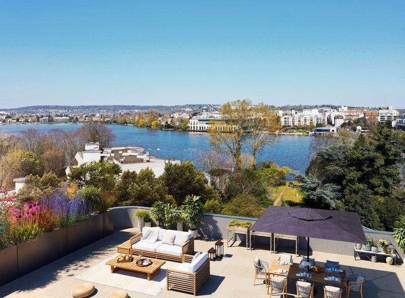 Appartements neufs Enghien-les-bains - Lac En Scène
