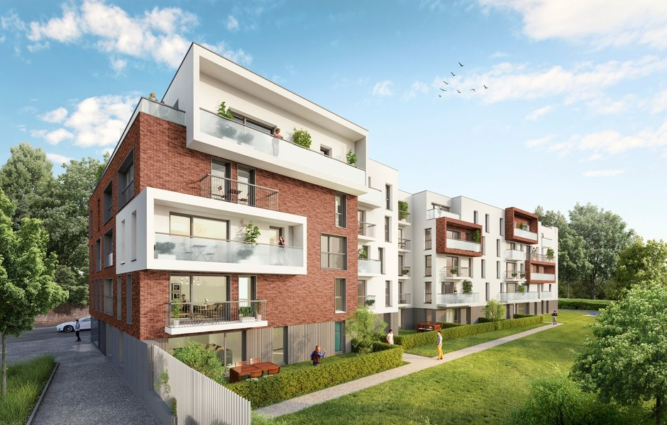 Appartements neufs Loos - Residence Blanquart Evrard