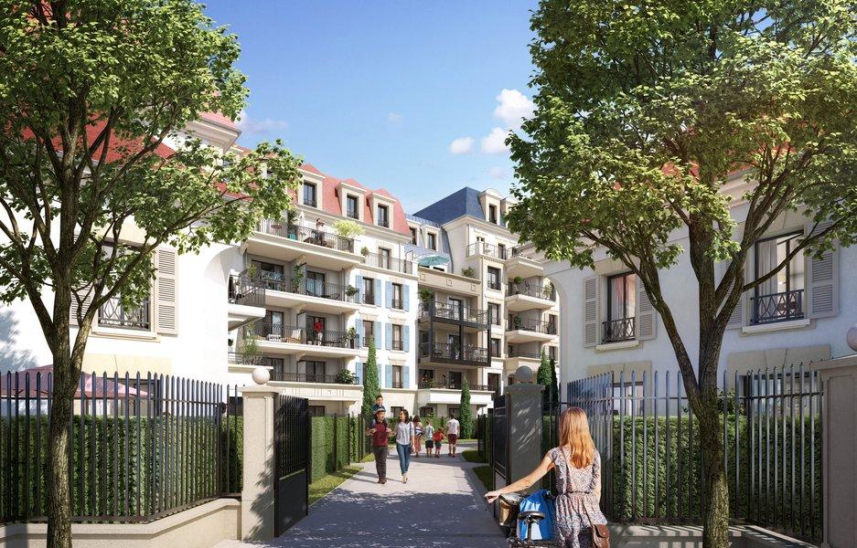 Appartements neufs Clamart - Les Jardins Mansart Clamart