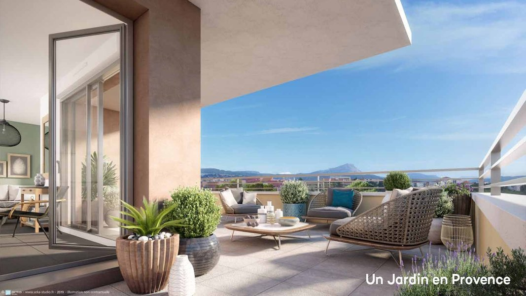 Appartements neufs Aix-en-provence - Un Jardin En Provence Ii