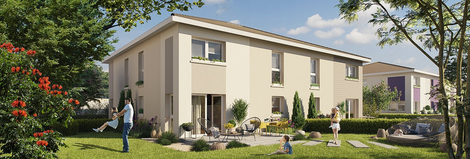 Maisons, appartements neufs Cernay - Les Carres Ciconia