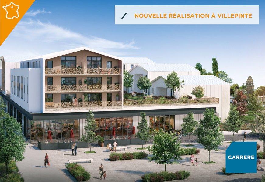 Appartements neufs Villepinte - Résidence Eden Green - Carrere