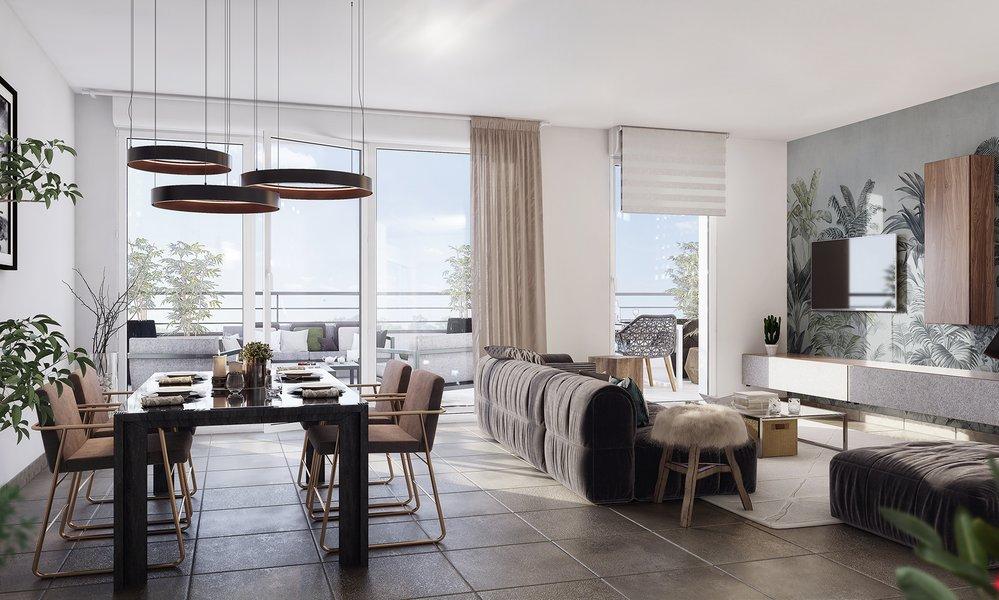 Appartements neufs Meyreuil - Le Domaine Sainte-victoire