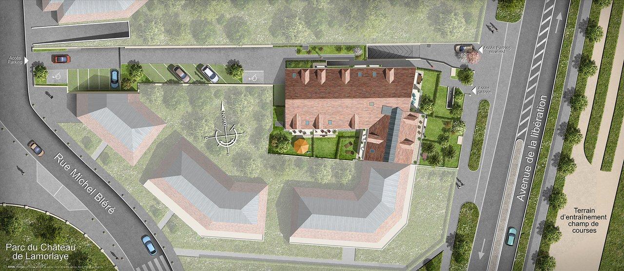 Appartements neufs Lamorlaye - Villarmonie