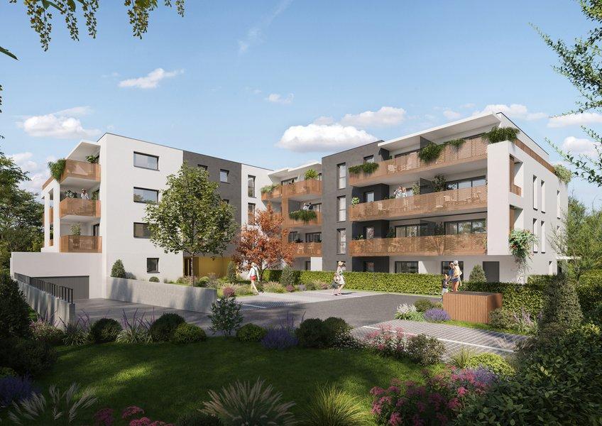 Appartements neufs La Motte-servolex - Trait D'union