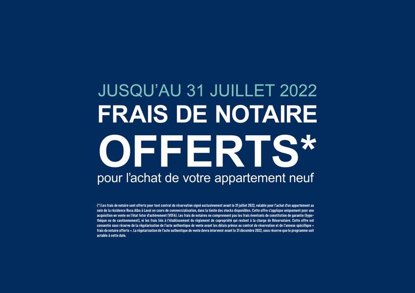 Appartements neufs Laval - Rosa Alba