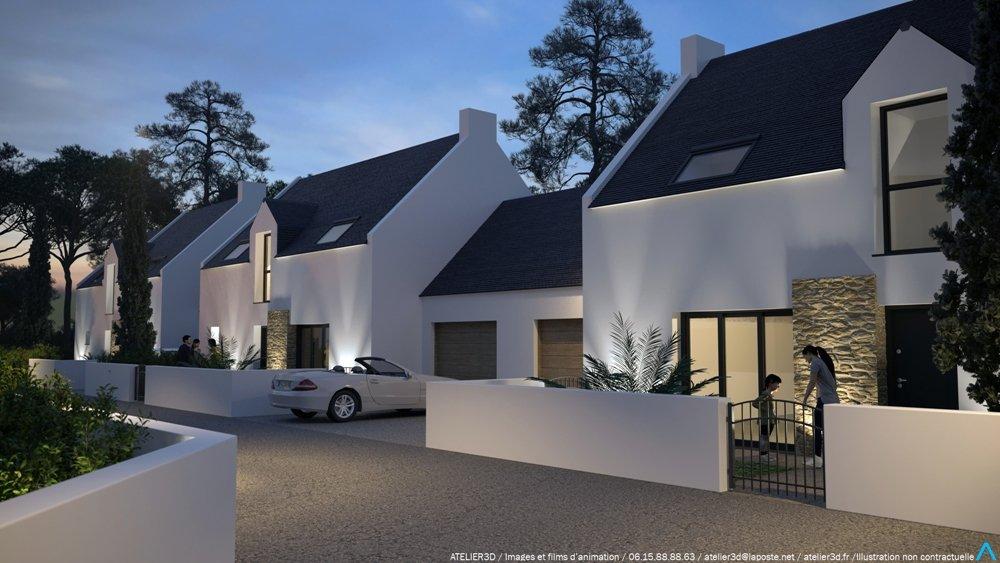 Maisons neuves Saint-pierre-quiberon - Beg Rohu - Les Villas De La Baie