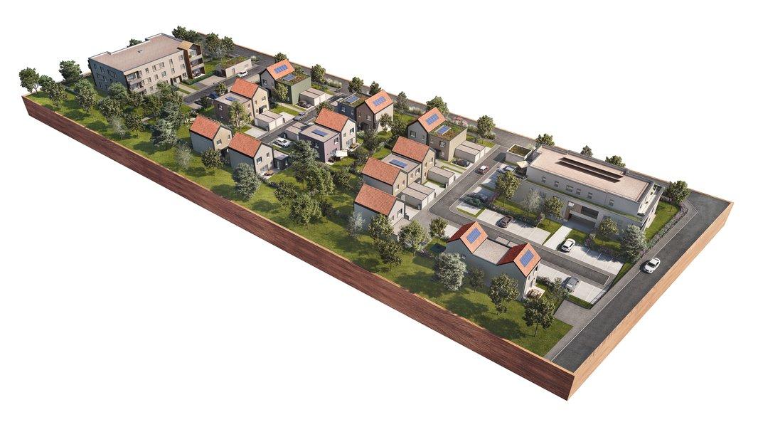 Appartements, maisons neufs Geispolsheim - L'empreinte