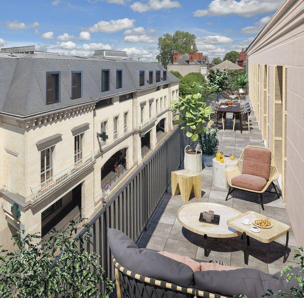 Appartements neufs Tours - L'hotel Des Lettres