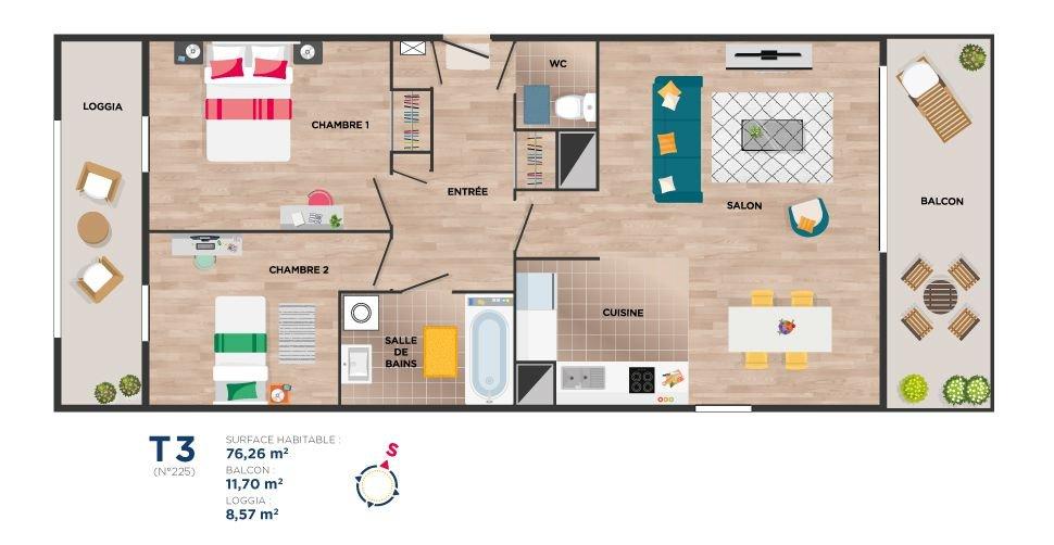 Appartements neufs Vitré - Garden Square (investissement Locatif Pls)