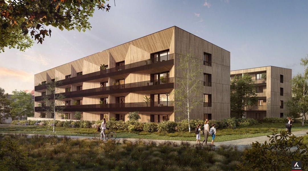 Appartements neufs Vezin-le-coquet - Norwood • Accession Coopérative