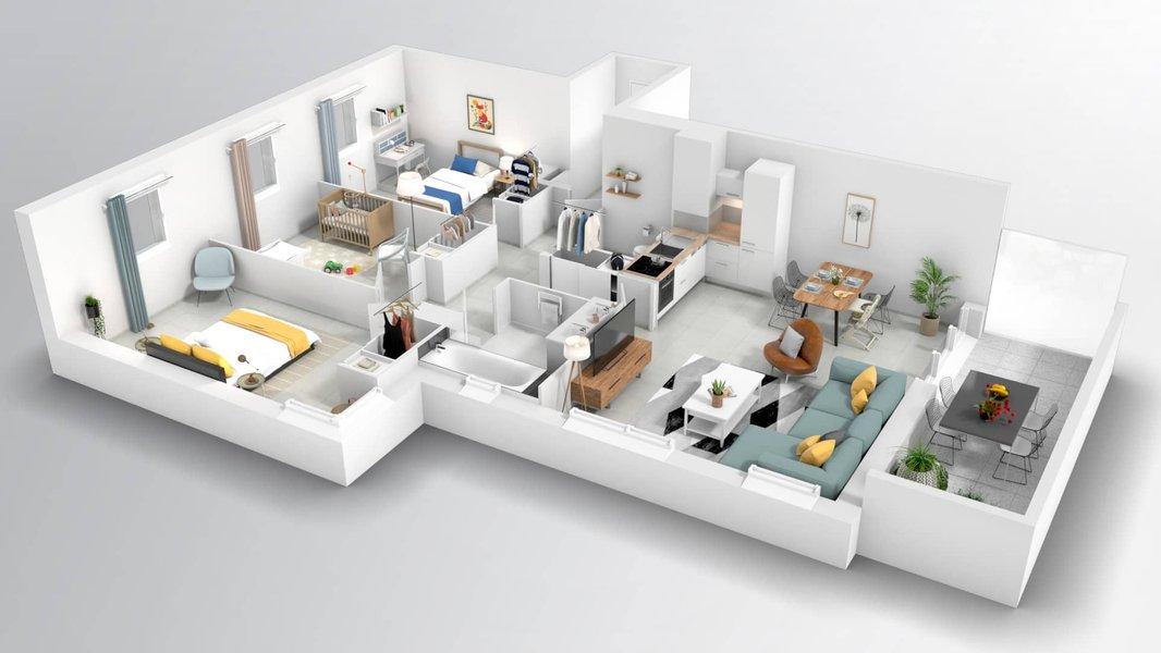 Appartements neufs Marseille - Allure 12ème - Prix Maîtrisés