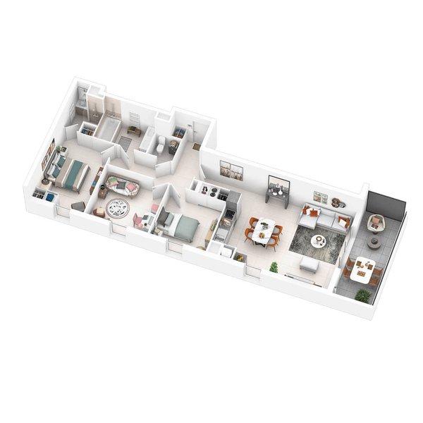 Appartement neuf Marseille - Pavillon 9