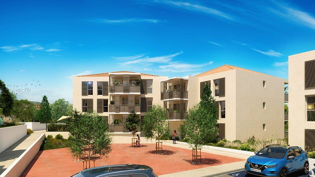 Appartement neuf Le Castellet - Terra Uva Ii Nue-propriété