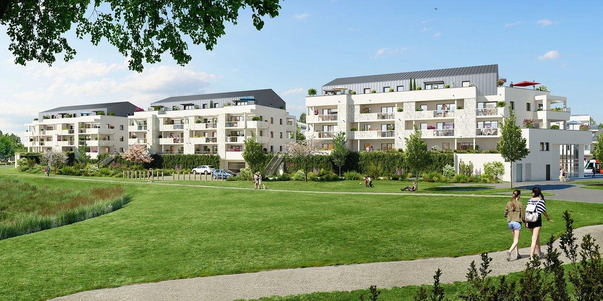 Appartements neufs Angers - Trio Verde