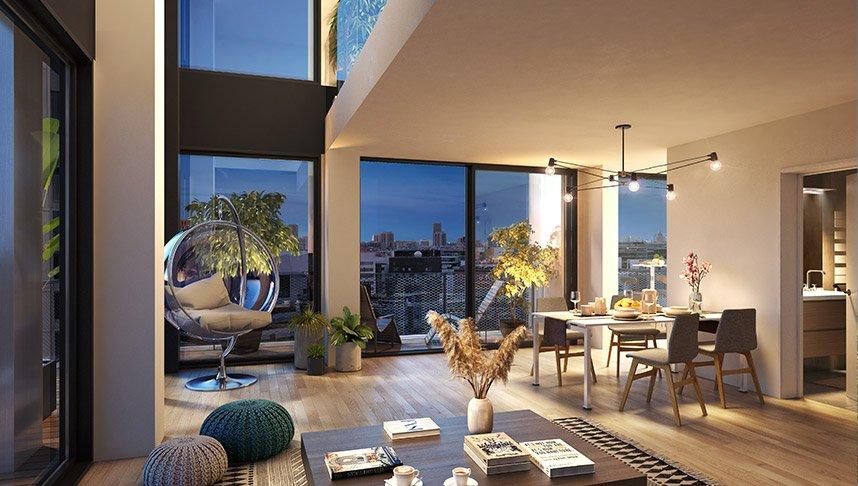 Appartements neufs Paris - Wood Up